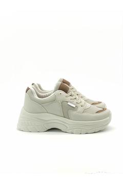 BV 00140 Bej / Vizon  Spor Ayakkabı resmi