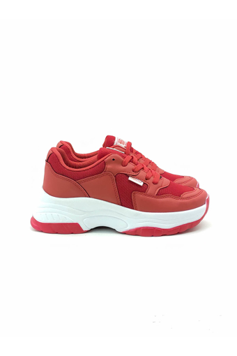 Picture of BV 00140 Red / white Sport Shoes