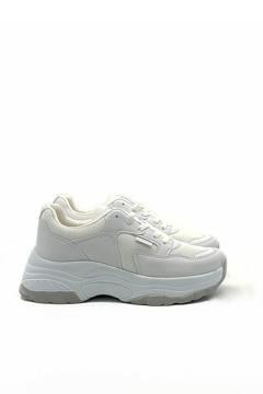 BV 00140 Beyaz  Spor Ayakkabı resmi