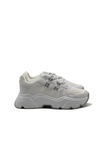 Picture of BV 00142 White Sport Shoes