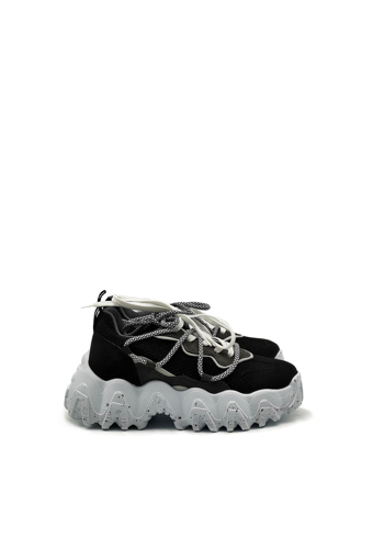 Picture of Bevesto 001363 Black Sport Shoes