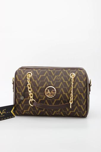 Picture of 19V69 ITALIA 5129 Brown Woman Handbag