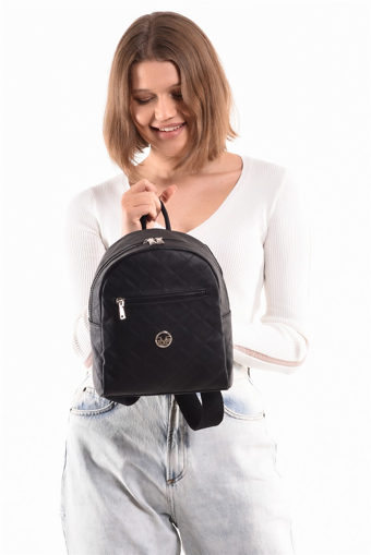 Picture of 19V69 ITALIA 7182 Black Woman Backpack