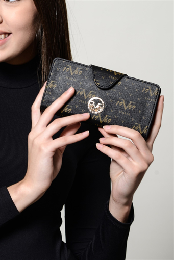Picture of 19V69 ITALIA 4297 Black Woman Wallet