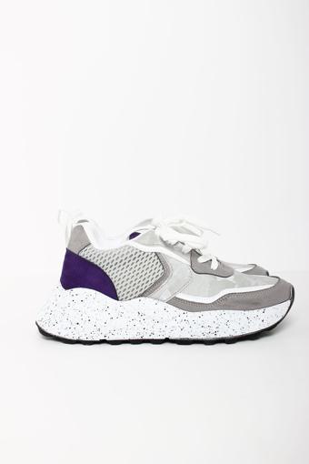 Be Vesto  001409 Gri Bayan Spor Ayakkabı resmi